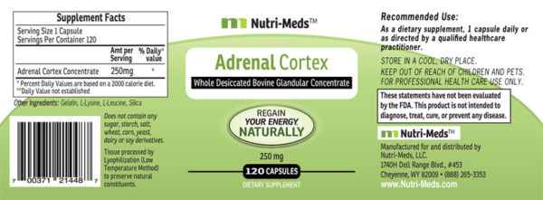 AdrenalCortex-250mg