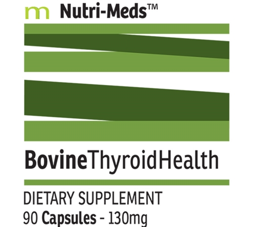 Desiccated Porcine Thyroid Health Capsules